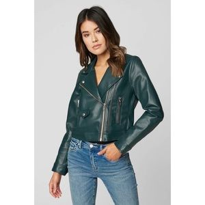 Blank NYC OVERACHIEVER moto green JACKET